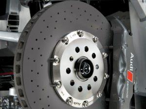 Ауди Q7 Замена тормозных дисков